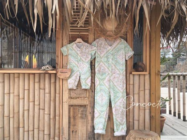 CONCOCTER - Korean Children Fashion - #Kfashion4kids - Mom Havana Jumpsuit - 6