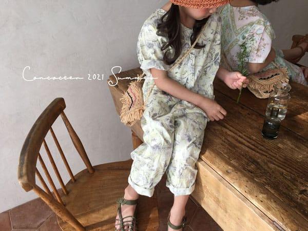 CONCOCTER - Korean Children Fashion - #Kfashion4kids - Havana Jumpsuit