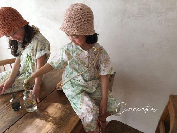CONCOCTER - Korean Children Fashion - #Kfashion4kids - Havana Jumpsuit - 3