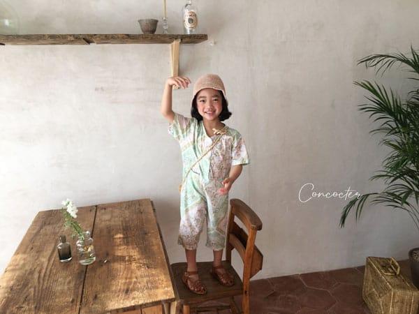 CONCOCTER - Korean Children Fashion - #Kfashion4kids - Havana Jumpsuit - 6