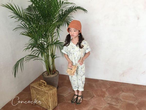 CONCOCTER - Korean Children Fashion - #Kfashion4kids - Havana Jumpsuit - 8