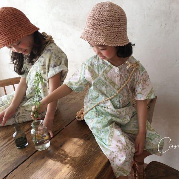 CONCOCTER - BRAND - Korean Children Fashion - #Kfashion4kids - Havana Jumpsuit