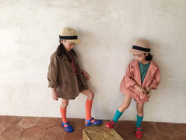 CONCOCTER - Korean Children Fashion - #Kfashion4kids - Firenze Suit Top Bottom Set - 4