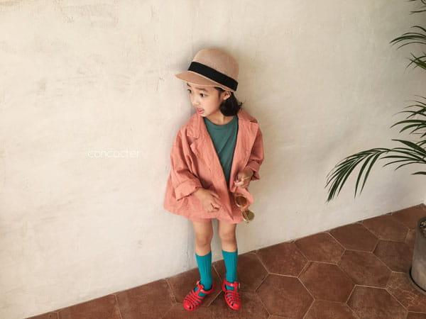 CONCOCTER - Korean Children Fashion - #Kfashion4kids - Firenze Suit Top Bottom Set - 5
