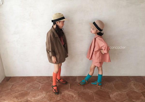 CONCOCTER - Korean Children Fashion - #Kfashion4kids - Firenze Suit Top Bottom Set - 7