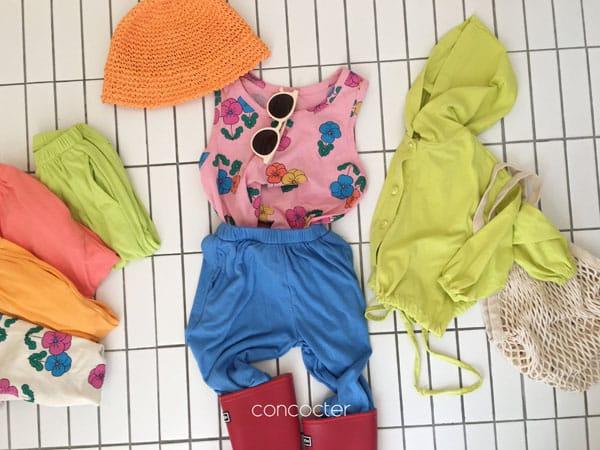 CONCOCTER - Korean Children Fashion - #Kfashion4kids - Rolling Sausage Pants - 4
