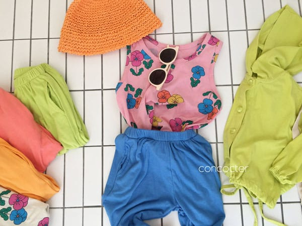 CONCOCTER - Korean Children Fashion - #Kfashion4kids - Rolling Sausage Pants - 5