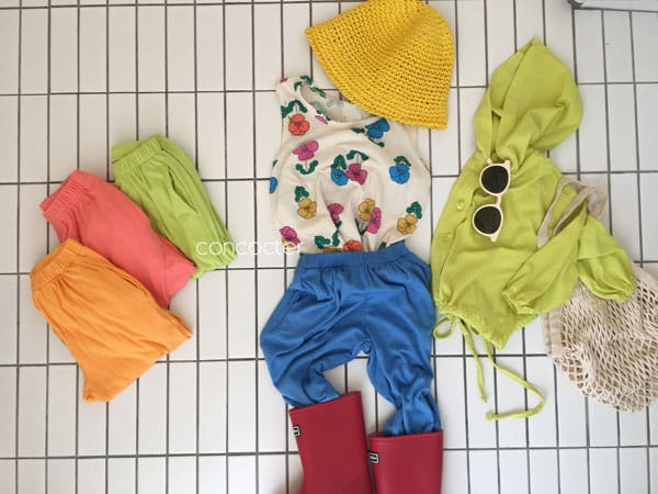 CONCOCTER - Korean Children Fashion - #Kfashion4kids - Rolling Sausage Pants - 6