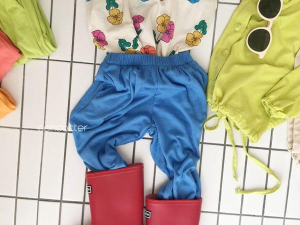 CONCOCTER - Korean Children Fashion - #Kfashion4kids - Rolling Sausage Pants - 7