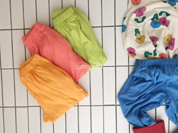 CONCOCTER - Korean Children Fashion - #Kfashion4kids - Rolling Sausage Pants - 8