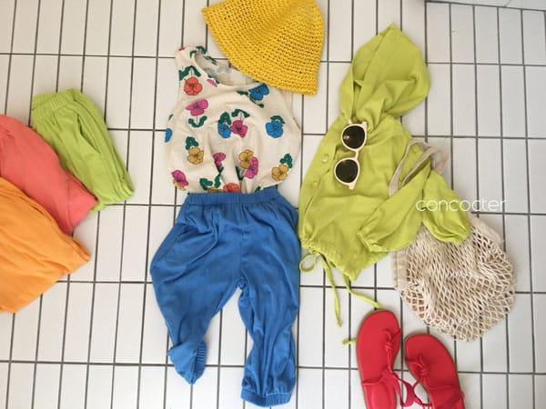 CONCOCTER - Korean Children Fashion - #Kfashion4kids - Rolling Sausage Pants - 9