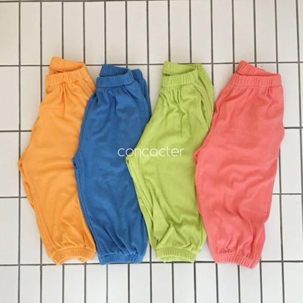CONCOCTER - BRAND - Korean Children Fashion - #Kfashion4kids - Rolling Sausage Pants