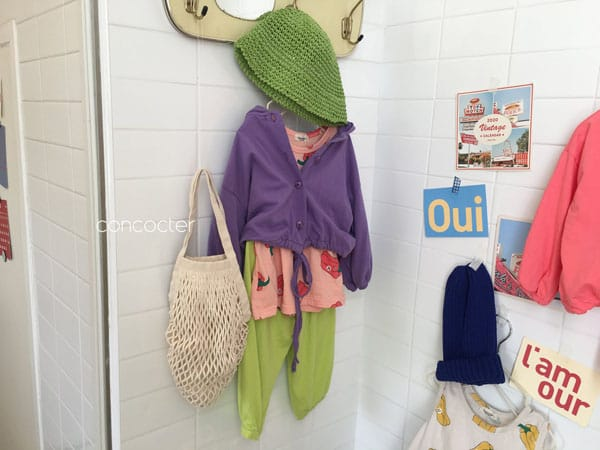 CONCOCTER - Korean Children Fashion - #Kfashion4kids - Paprika Sleeveless - 4