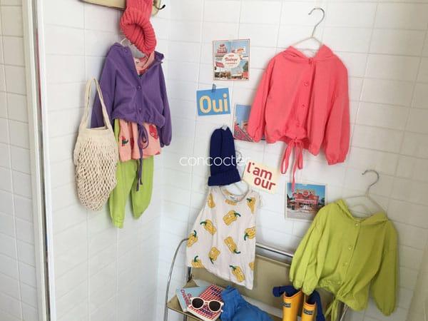 CONCOCTER - Korean Children Fashion - #Kfashion4kids - Paprika Sleeveless - 6