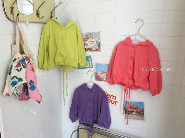 CONCOCTER - Korean Children Fashion - #Kfashion4kids - Wear Like This Hood Jumper - 2