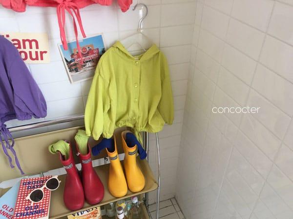 CONCOCTER - Korean Children Fashion - #Kfashion4kids - Wear Like This Hood Jumper - 3