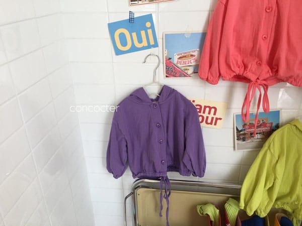CONCOCTER - Korean Children Fashion - #Kfashion4kids - Wear Like This Hood Jumper - 4
