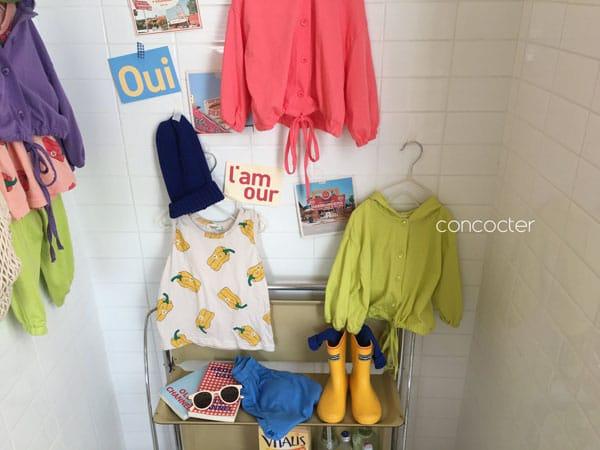 CONCOCTER - Korean Children Fashion - #Kfashion4kids - Wear Like This Hood Jumper - 6