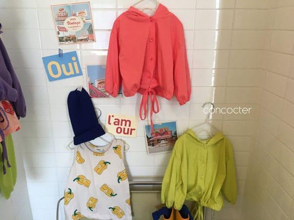 CONCOCTER - Korean Children Fashion - #Kfashion4kids - Wear Like This Hood Jumper - 8