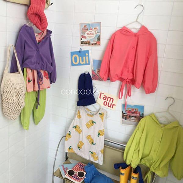 CONCOCTER - BRAND - Korean Children Fashion - #Kfashion4kids - Wear Like This Hood Jumper