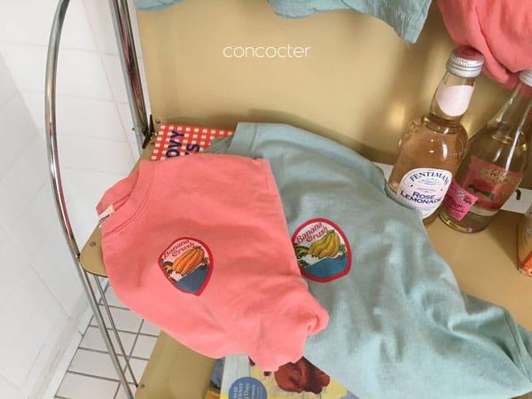 CONCOCTER - Korean Children Fashion - #Kfashion4kids - Banana Tee