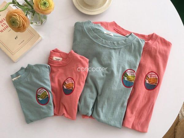 CONCOCTER - Korean Children Fashion - #Kfashion4kids - Banana Tee - 6