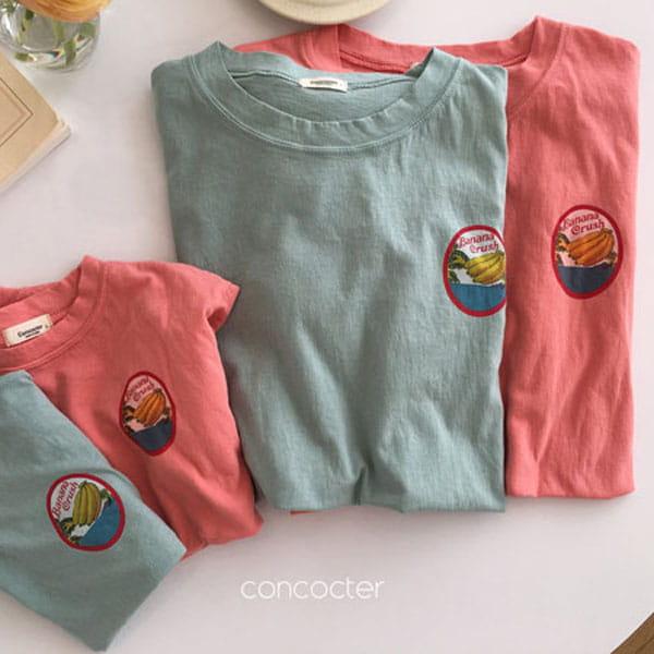 CONCOCTER - BRAND - Korean Children Fashion - #Kfashion4kids - Banana Tee