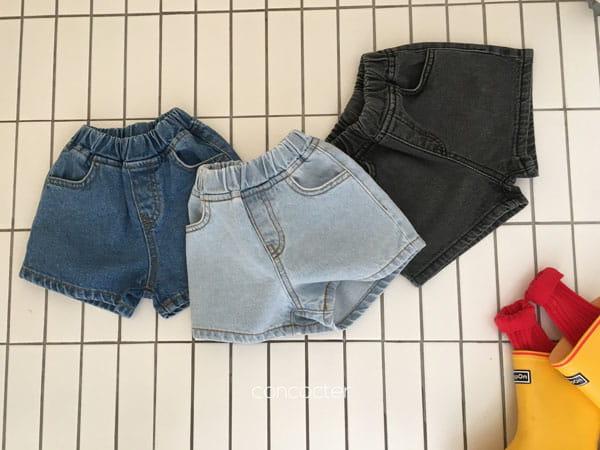CONCOCTER - Korean Children Fashion - #Kfashion4kids - Three Color Denim Shorts - 4