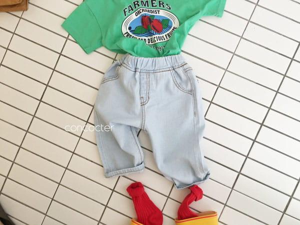 CONCOCTER - Korean Children Fashion - #Kfashion4kids - 21 Thin Cool Jean