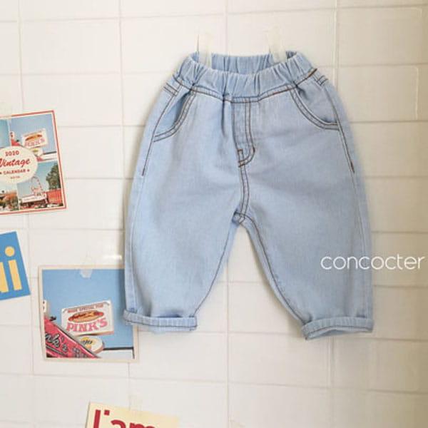 CONCOCTER - BRAND - Korean Children Fashion - #Kfashion4kids - 21 Thin Cool Jean