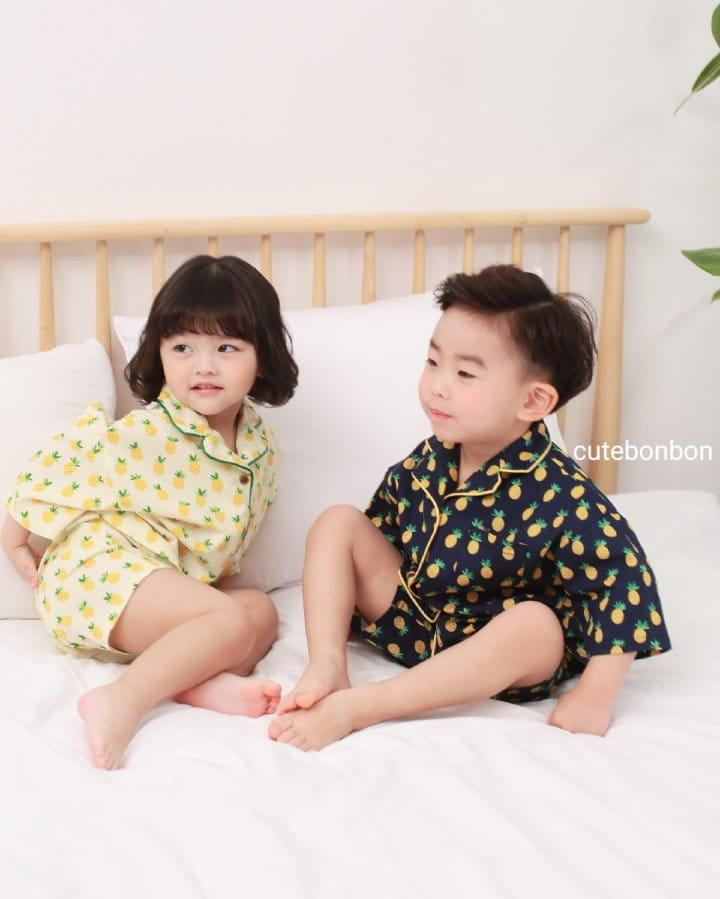 CUTEBONBON - Korean Children Fashion - #Kfashion4kids - Pineapple Pajamas - 11