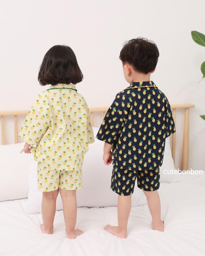 CUTEBONBON - Korean Children Fashion - #Kfashion4kids - Pineapple Pajamas - 12