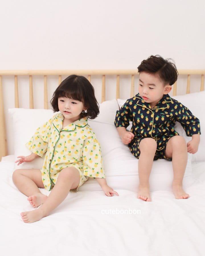 CUTEBONBON - Korean Children Fashion - #Kfashion4kids - Pineapple Pajamas - 3