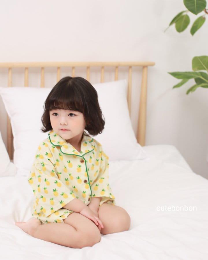 CUTEBONBON - Korean Children Fashion - #Kfashion4kids - Pineapple Pajamas - 4