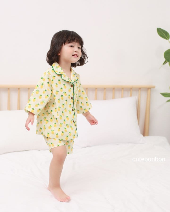 CUTEBONBON - Korean Children Fashion - #Kfashion4kids - Pineapple Pajamas - 5
