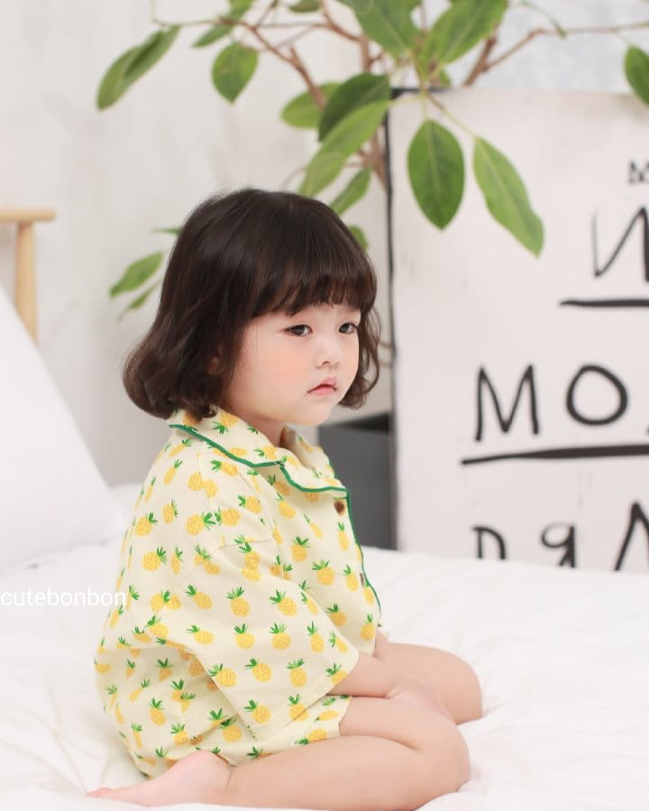 CUTEBONBON - Korean Children Fashion - #Kfashion4kids - Pineapple Pajamas - 6
