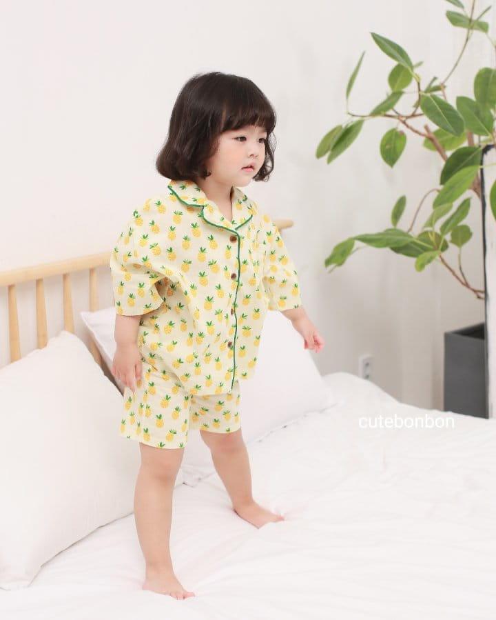 CUTEBONBON - Korean Children Fashion - #Kfashion4kids - Pineapple Pajamas - 7
