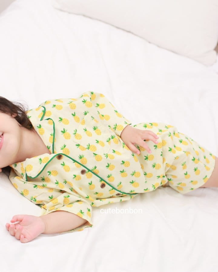CUTEBONBON - Korean Children Fashion - #Kfashion4kids - Pineapple Pajamas - 8