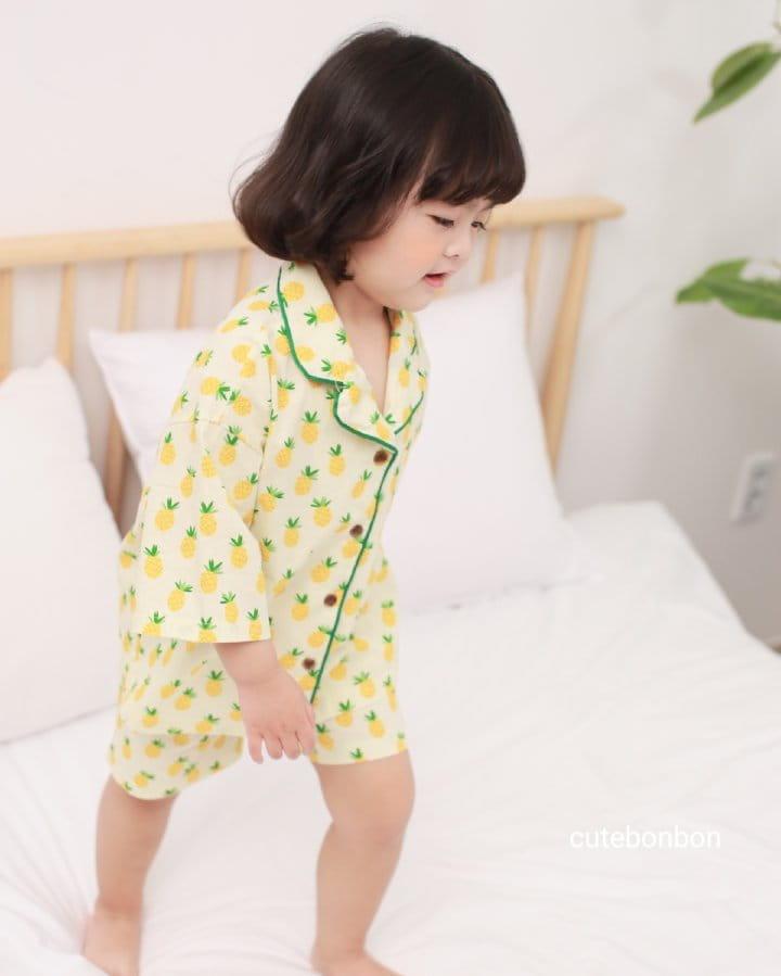 CUTEBONBON - Korean Children Fashion - #Kfashion4kids - Pineapple Pajamas - 9