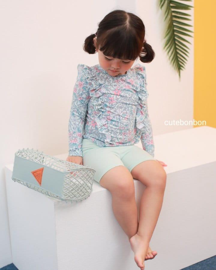 CUTEBONBON - Korean Children Fashion - #Kfashion4kids - Frill Rashguard - 10