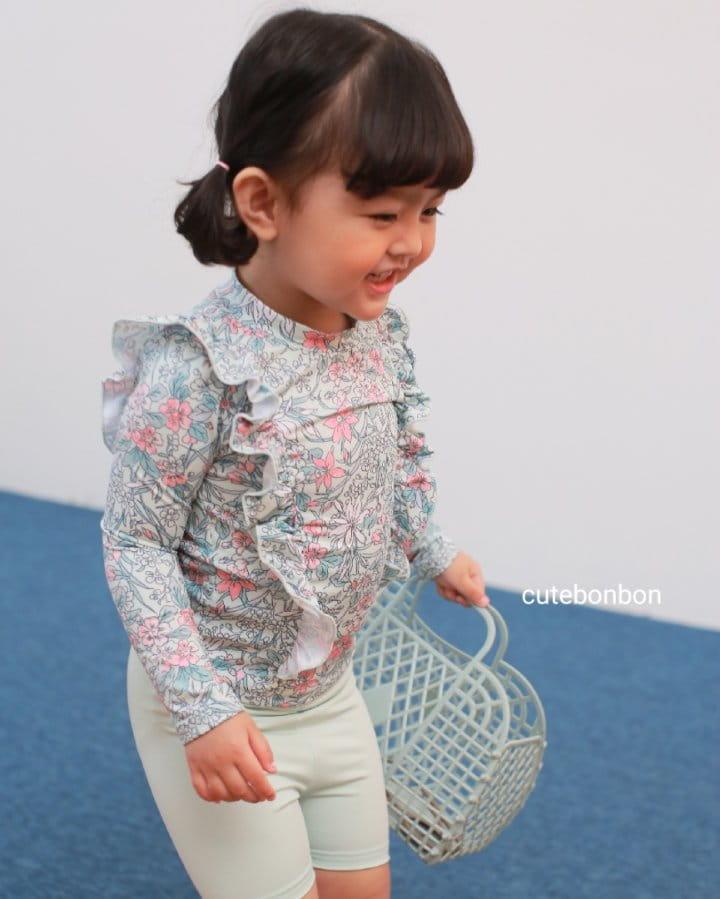 CUTEBONBON - Korean Children Fashion - #Kfashion4kids - Frill Rashguard - 11