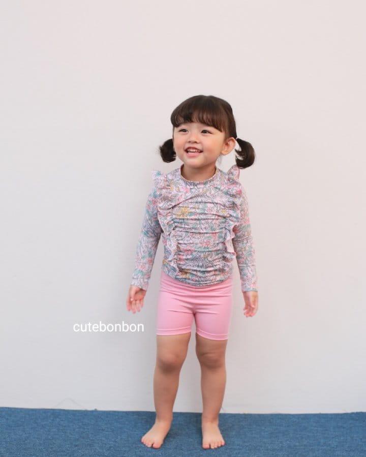 CUTEBONBON - Korean Children Fashion - #Kfashion4kids - Frill Rashguard - 12