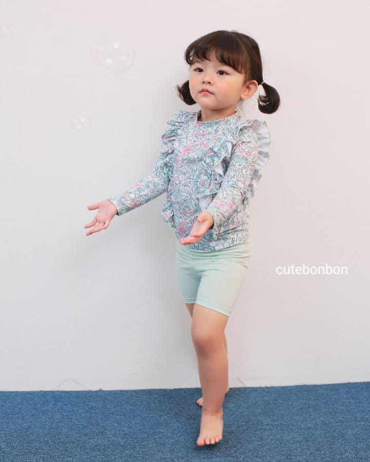 CUTEBONBON - Korean Children Fashion - #Kfashion4kids - Frill Rashguard - 3