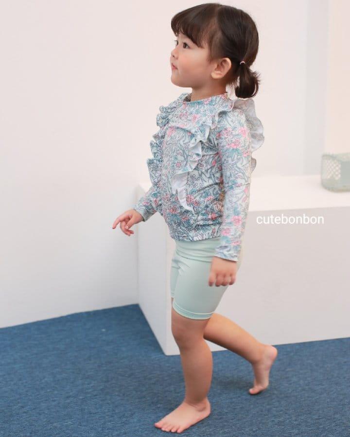 CUTEBONBON - Korean Children Fashion - #Kfashion4kids - Frill Rashguard - 4