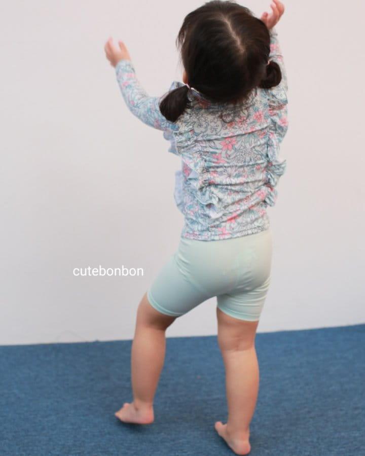 CUTEBONBON - Korean Children Fashion - #Kfashion4kids - Frill Rashguard - 5