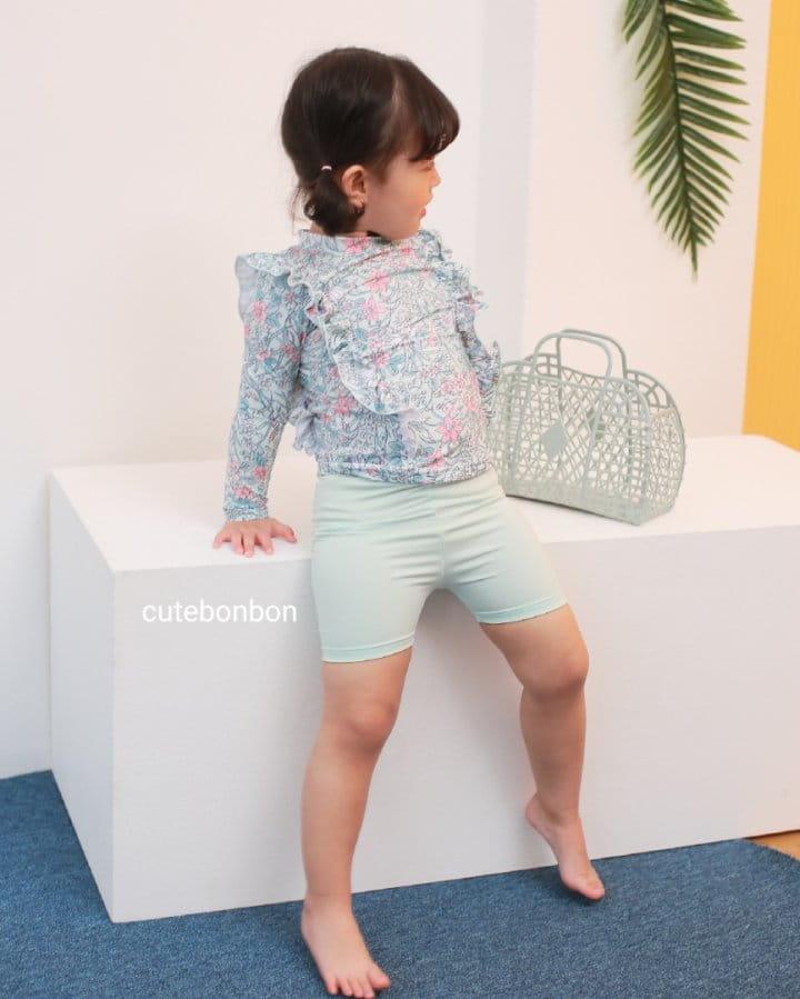 CUTEBONBON - Korean Children Fashion - #Kfashion4kids - Frill Rashguard - 6