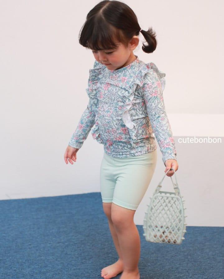 CUTEBONBON - Korean Children Fashion - #Kfashion4kids - Frill Rashguard - 7