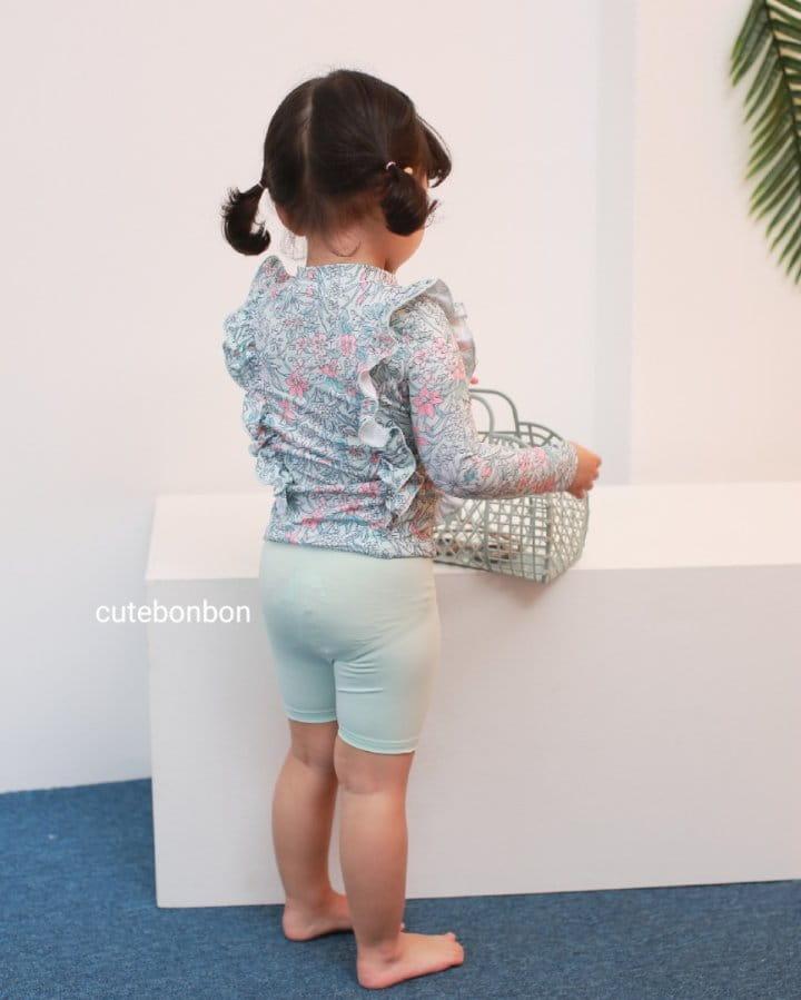 CUTEBONBON - Korean Children Fashion - #Kfashion4kids - Frill Rashguard - 8
