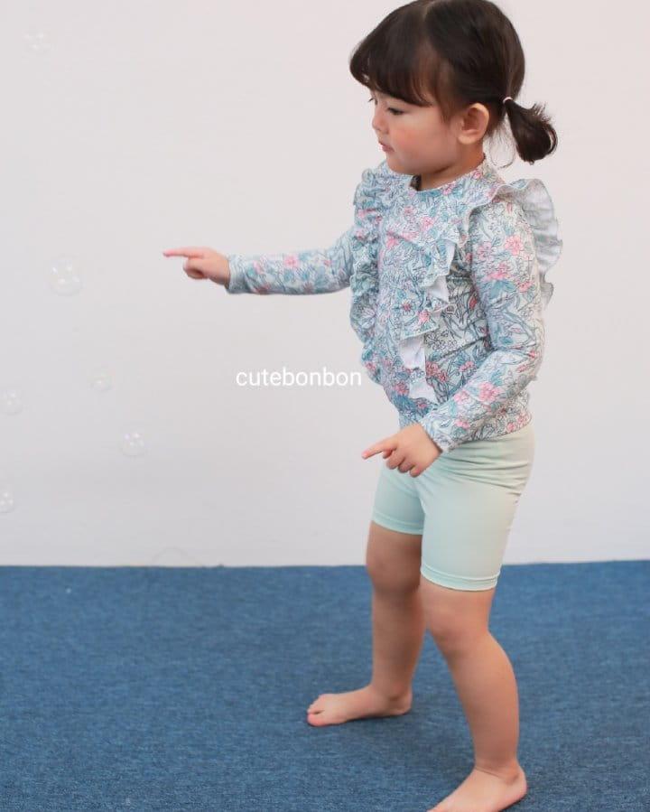 CUTEBONBON - Korean Children Fashion - #Kfashion4kids - Frill Rashguard - 9