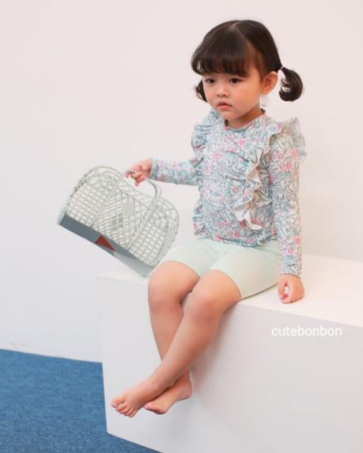 CUTEBONBON - BRAND - Korean Children Fashion - #Kfashion4kids - Frill Rashguard